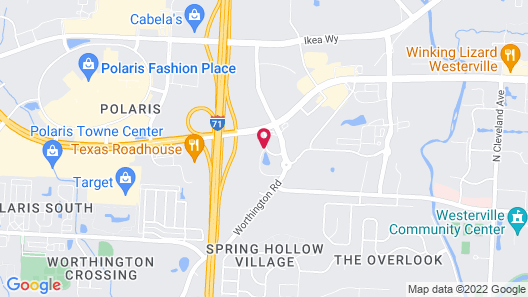 Four Points by Sheraton Columbus-Polaris Map