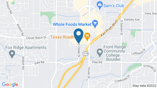 Holiday Inn Express Hotel & Suites Longmont, an IHG Hotel Map