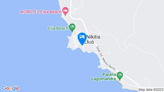 Akti Elia Villas Map