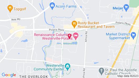 Renaissance Columbus Westerville-Polaris Hotel Map