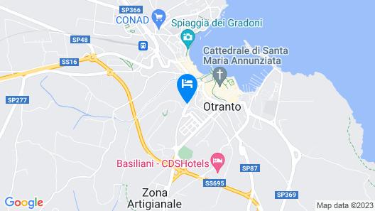 Hotel Vittoria Resort Pool & Spa Map