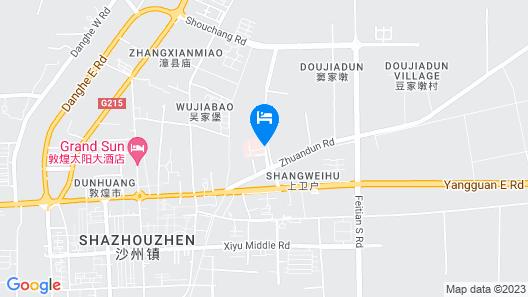 Super 8 Hotel Dunhuang Feng Qing Cheng Map