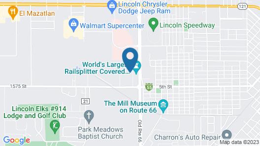 Hotel Lincoln Inn Map