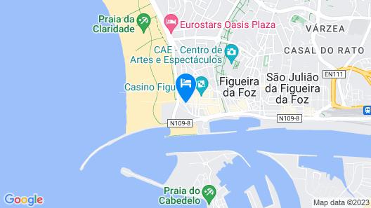 Costa de Prata Hotel Map