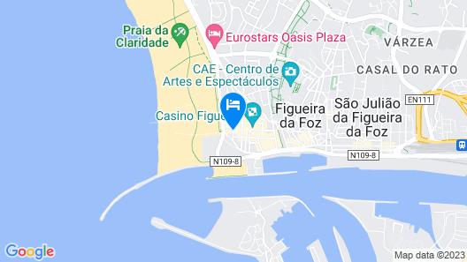 Hotel Aliança Map