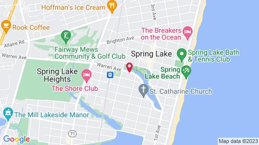 Grand Victorian - Spring Lake Map