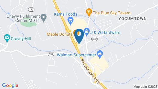 Value Inn Harrisburg - York Map