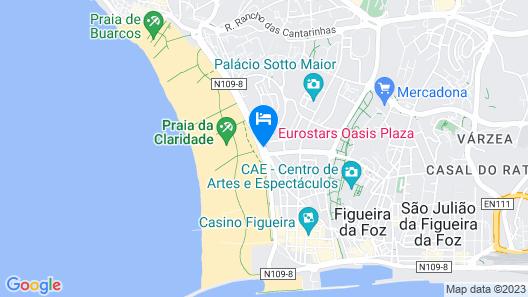 Eurostars Oasis Plaza Hotel Map