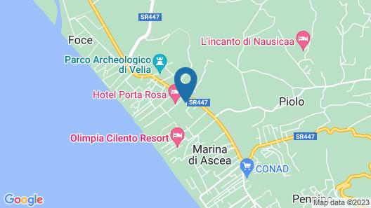 Residence Hotel Villa Laura Map