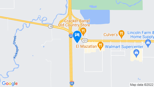 Comfort Inn & Suites near Route 66 Map