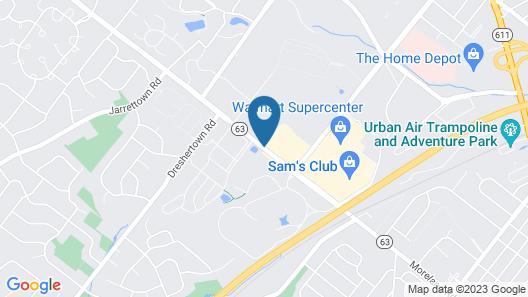 Extended Stay America Philadelphia - Horsham - Welsh Rd. Map