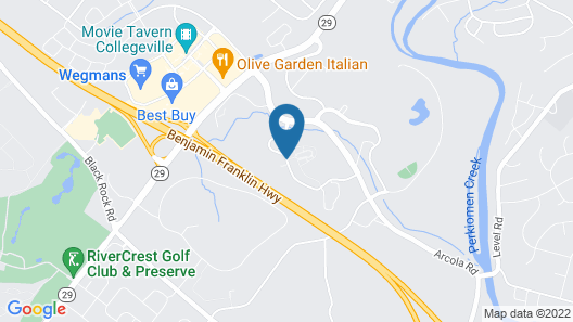 Courtyard by Marriott Philadelphia Valley Forge/Collegeville Map