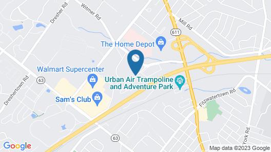 Fairfield Inn & Suites by Marriott Philadelphia Horsham Map