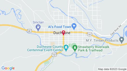 Winterton Suites Duchesne Map