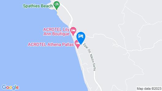 Acrotel Athena Pallas Map