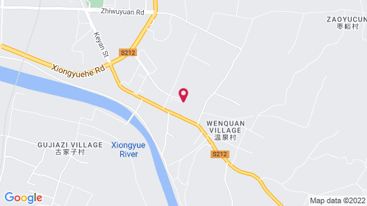 Xiongyue Tianmu Hot Spring Resort Map