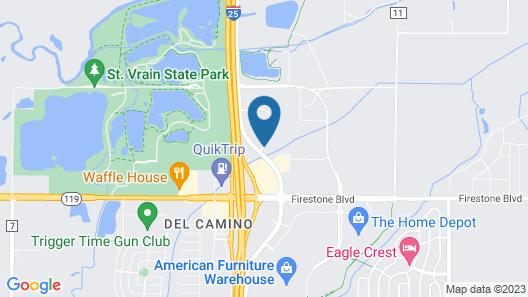 Best Western Firestone Inn & Suites Map