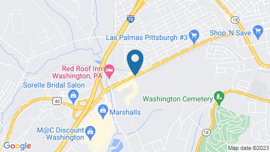 Ramada by Wyndham Washington Map