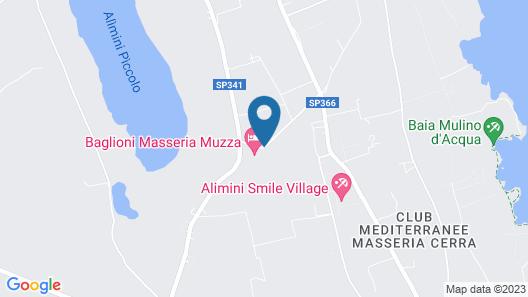 Masseria Muzza Map
