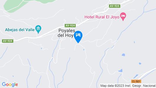 Hotel Rural Las Praderas Map