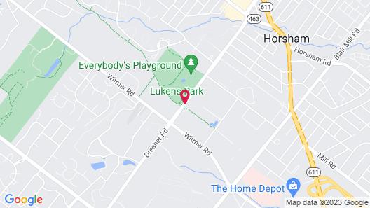 Extended Stay America Philadelphia - Horsham - Dresher Rd. Map