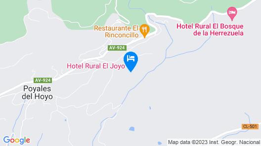 Hotel Rural El Joyo Map