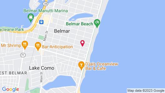 Belmar Inn Map