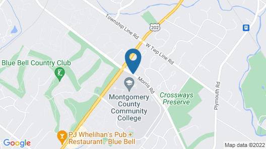 Normandy Farm Hotel and Conference Center Map