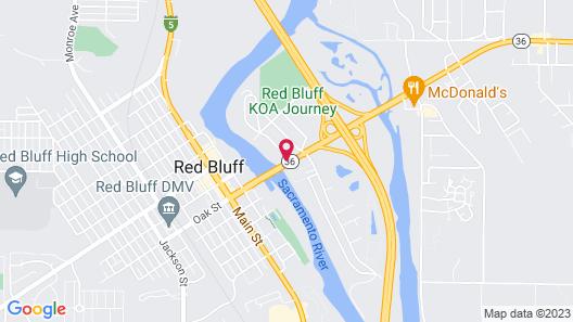 Travelodge by Wyndham Red Bluff Map