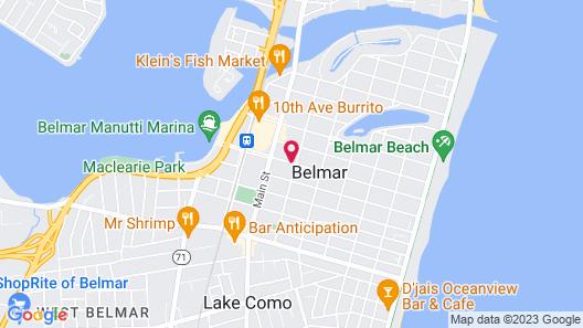 Tandem Bike Inn Map