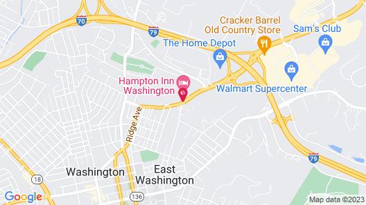 Hampton Inn Washington Map