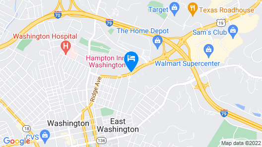 Hampton Inn Washington Map
