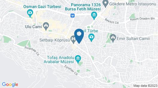 Sefertasi 04 Pansiyon Map