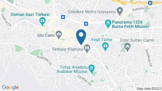 Bursa Suites Apart Hotel Map