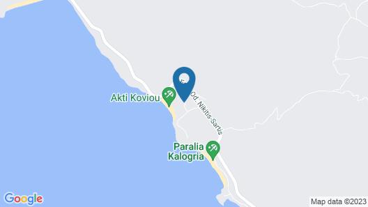 Hotel Makednos Map