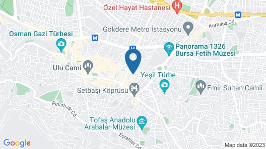 Kayhan City Hotel Map