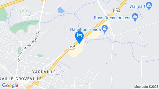Residence Inn Hamilton Map