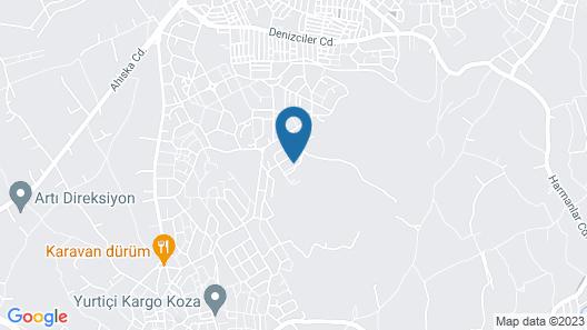 Villa Bursa Map