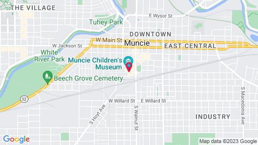 Courtyard Muncie at Horizon Convention Center Map