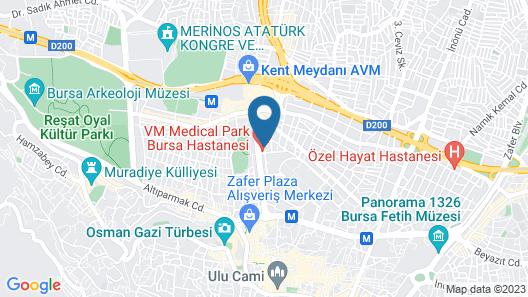 Dream Of Holiday Centrum Map