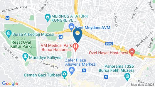 Hotel Ozkan Map