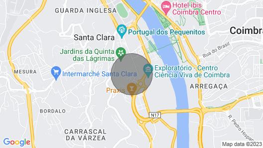 Tears Residence Luxury Coimbra Map
