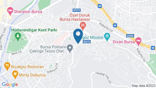 Marigold Thermal Spa Hotel Map