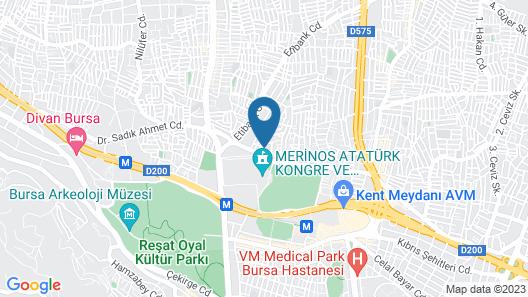 Abbasi Apart Map