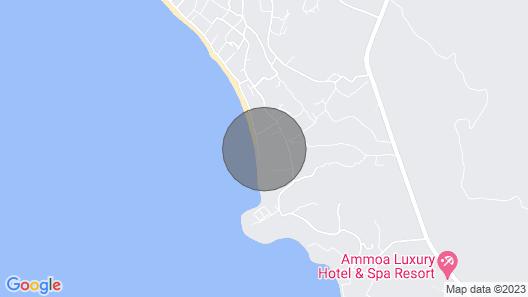 Beaufort BeachFront Villa, Nikiti Map