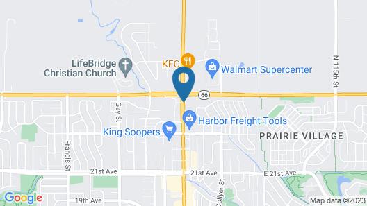 Super 8 by Wyndham Longmont/Twin Peaks Map