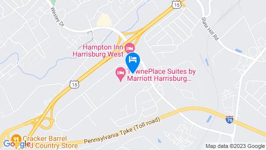 Towneplace Suites by Marriott Harrisburg West/Mechanicsburg Map