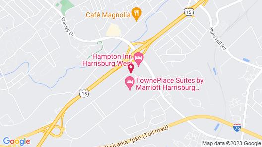 Hampton Inn by Hilton Harrisburg West Map