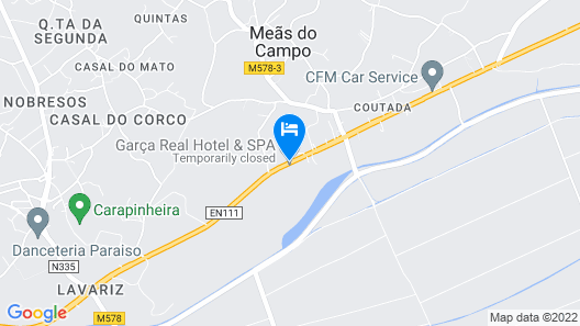 Garça Real Hotel & Spa Map
