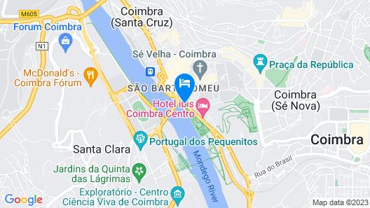 Hotel Avenida Coimbra Map
